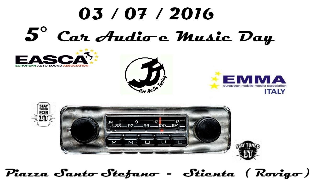 ITALY - 5° Car Audio and Music Day @ Piazza Santo Stefano | Stienta | Veneto | Italy