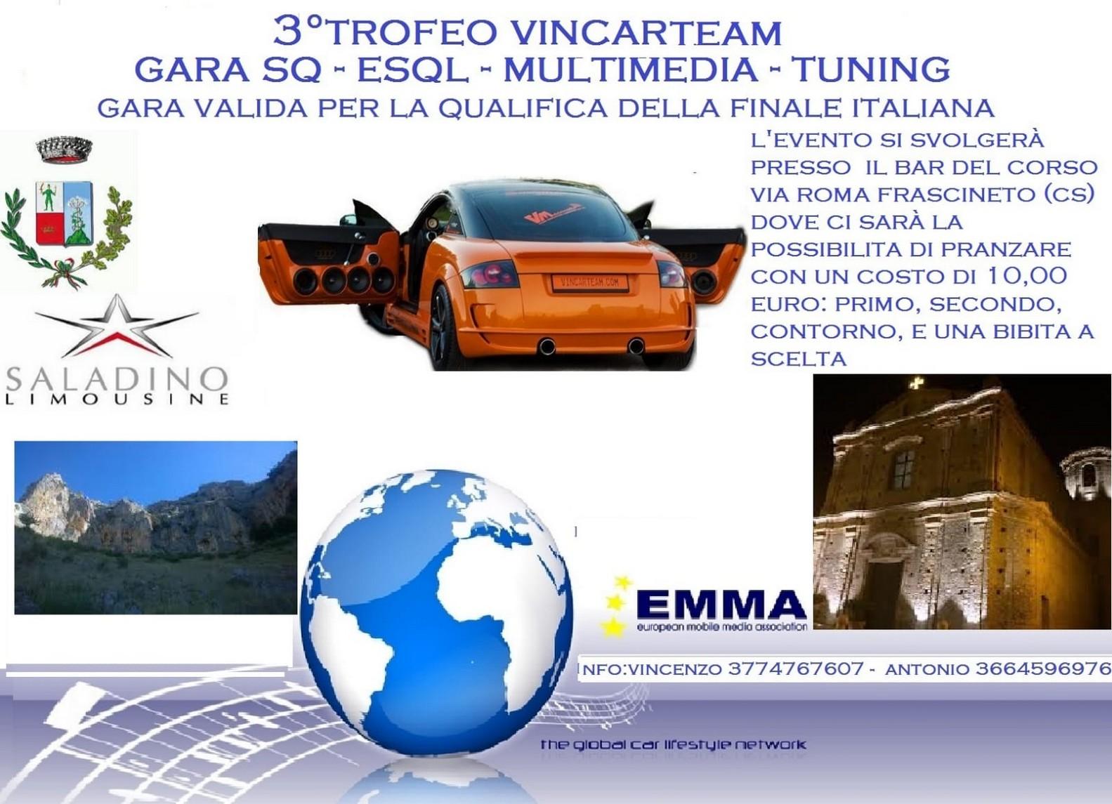EMMA ITALY - 3° Trofeo VincarTeam - Frascineto @ Via Roma | Frascineto | Calabria | Italy