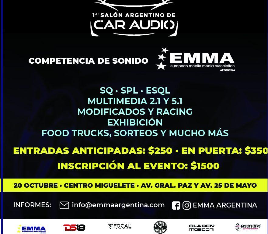 1er Salón Argentino de Car Audio - EMMA Argentina @ Centro de Exposiciones Miguelete | Villa Maipú | Buenos Aires | Argentina